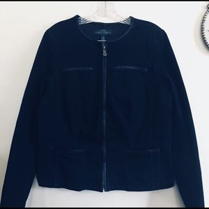 Ralph Lauren Bomber Denim Jacket